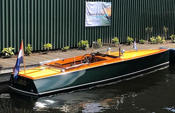 Houten boot te koop Autoboot 795 | Harting Woodenclassics