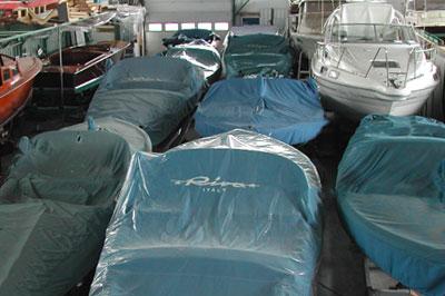 Verwarmde winterstalling boot Aalsmeer